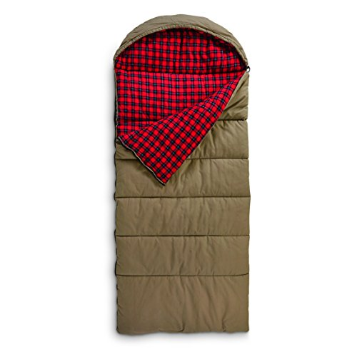 Guide Gear Canvas Hunter Sleeping Bag, 0°F by Guide Gear