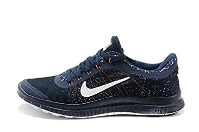 low priced e61c5 e2358 Max Air Sports Running Shoes Free 3.0 Navy Blue: Buy Online ...