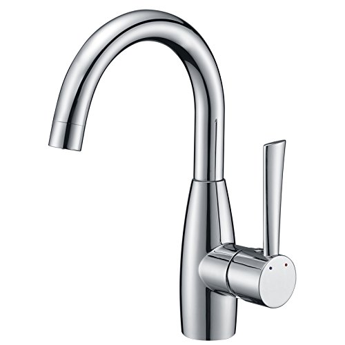 Prep Bar Faucet in Chrome Sink Bar Faucet Single Hole Bathroom Faucet
