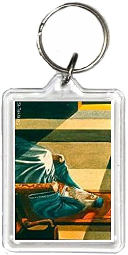 - Christian Keychain, the Same Picture on Both Sides.