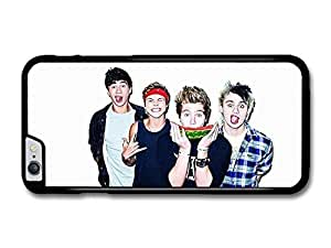 5 Seconds Of Summer Funny Faces Watermelon Boyband case for iPhone 6 Plus by mcsharks