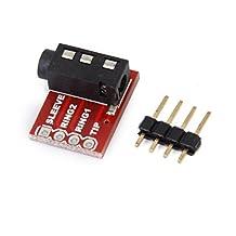 TRRS Jack Breakout Board Headset Stereo Socket Plate Extension Module 3.5mm