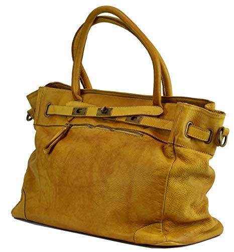 Estilo BZNA Cuero vintage 0221 Mujer B2075 XL de qEwRFvzE
