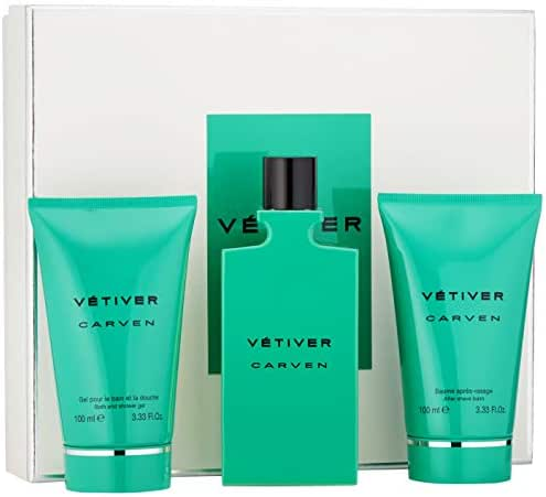 Carven Vetiver Eau De Toilette 3-Piece Set