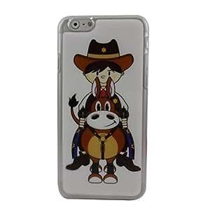 MOFY-Caballero de la historieta cubierta trasera de pl‡stico duro para el iphone 6
