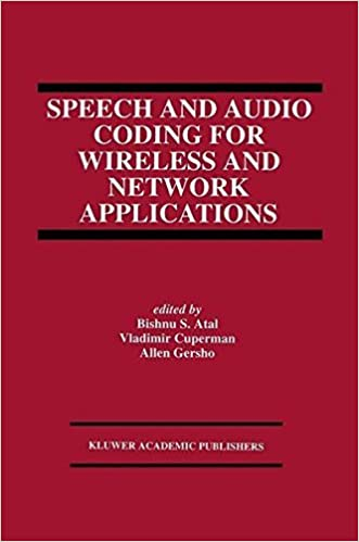 Speech and Audio Coding for Wireless and Network Applications: 2nd