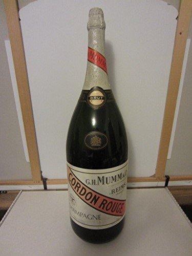 GH Mumm & Co Cordon Rouge Brut Champagne France Giant Methuselah Empty (6L) 6 Liter Factice Dummy Bar Display Bottle