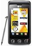 LG KP500 Cookie Unlocked Phone with 3.2 MP Camera and Digital Media Player--International Version (Black), No-Warranty