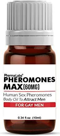 GAY ((Pheromone Max)) ATTRACT MEN Pheromone Scented Oil 60mg Maximum potency -Human Sex Pheromones -Libido -PhermaLabs