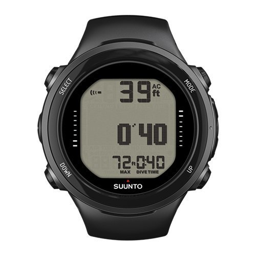 Suunto D4I Wrist Watch without USB, Black