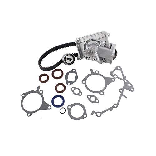 DNJ TBK451WP Timing Belt Kit with Water Pump for 1990-1997 / Ford, Mazda / 323, Aspire, Festiva, MX-3, Protege / 1.3L, 1.6L, 1.8L / SOHC / L4 / 16V, 8V / 1295cc, 1597cc, 1839cc