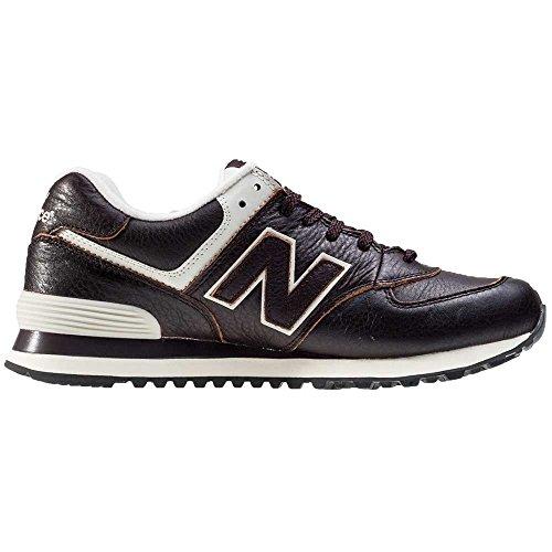 NBML574 Uomo New Balance Sneaker Marrone 5wZR1aq