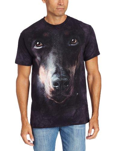 Old Glory Doberman Face T-Shirt
