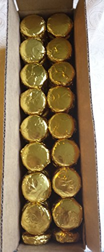 Chocolate Covered Oreo Cookies 100 Pieces Gold Foil