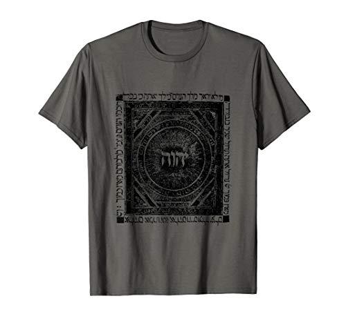 YHVH Tetragrammaton T-Shirt Hebrew Kabbalah Jehovah - Kabbalah T-shirts