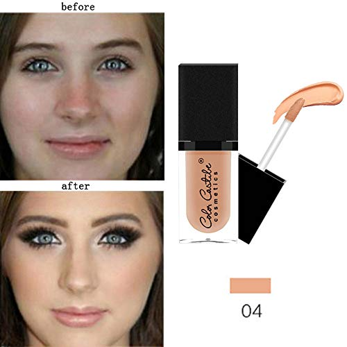 Under Eye Concealer, Makeup Liquid Concealer Foundation Moisturizing Waterproof Concealer BB Cream