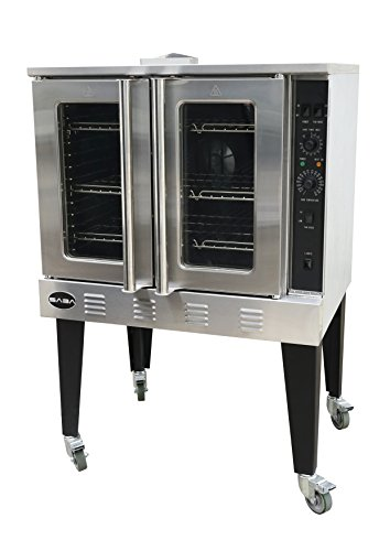 Heavy Duty Stainless Steel Gas Convection Oven, Free Standing