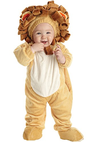 Underwraps Costumes Baby's Lion, Tan/Brown, Small (Lion Costume 2t)