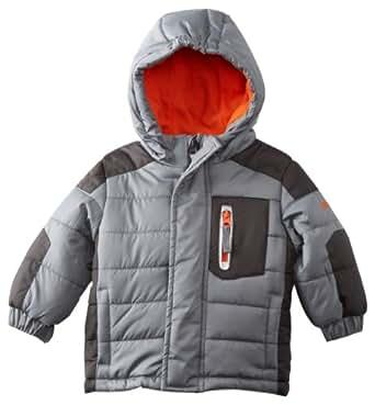 Osh Kosh Baby Boys' Heavyweight Jacket, Gray, 12 Months