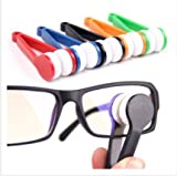 Peeps Eyeglass Cleaner - Glasses Cleaning Cloth - Sun Glassess Glasses Eyeglasseess Microfiber Brush Cleaner Tool