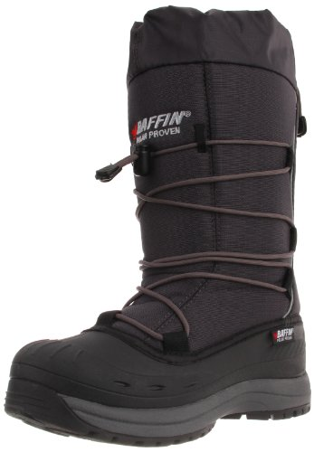Baffin Women's Snogoose Insulated Boot,Charcoal,9 M US