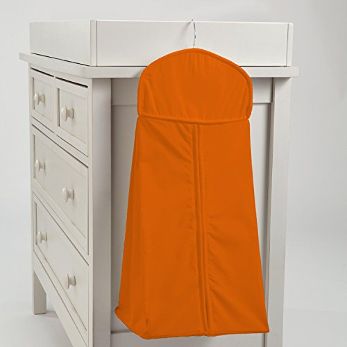 Carousel Designs Solid Orange Diaper Stacker by Carousel Designs