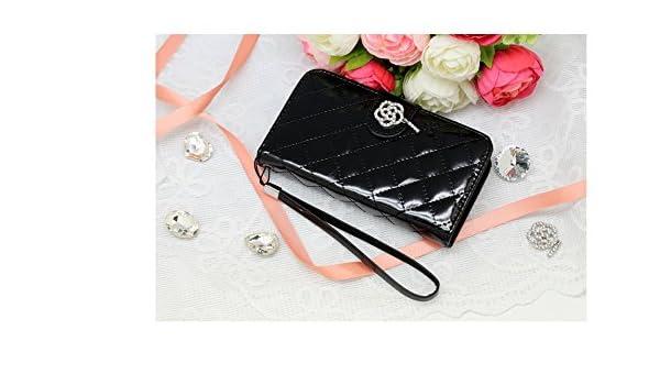 iPhone 5S Case, LUMI [Black] iPhone 5S Wallet Case-Cubic