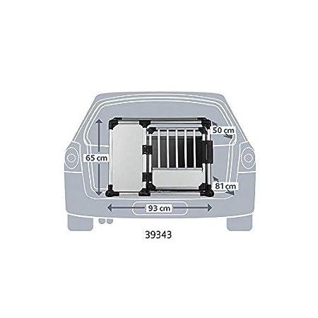 Jaula Transporte, Aluminio, 93x65x81 cm: Amazon.es: Productos para mascotas