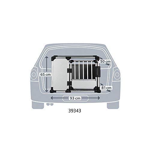 Transportin para perros y gatos Aluminio 94 × 87 × 93 cm Trixie .: Amazon.es: Productos para mascotas