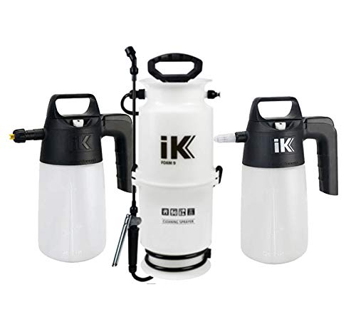 iK PUMP SPRAYER COMBO KIT (3-PK) iK Foam 9 + iK Foam 1.5 + iK Multi 1.5 Professional Auto Detailing Foamers and Multi-Purpose Pressure Sprayer | Pro Quality Tough with Easy To Use Design by THE RAG COMPANY (Image #8)