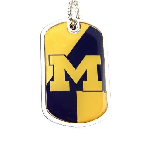 NCAA Michigan Wolverines Dynamic Dog Tag