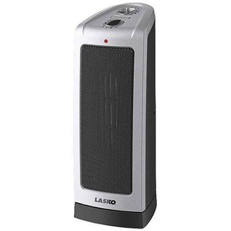 Lasko Electric Oscillating Ceramic 1500-Watt Tower Heater, 5307