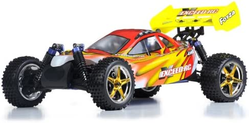 Exceed RC 1/10 2.4Ghz Forza .18 Engine RTR Nitro Powered Off Road Buggy