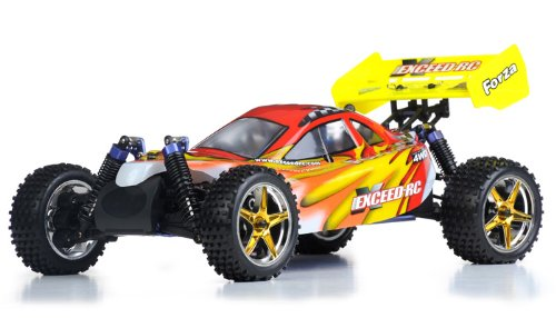 1/10 2.4Ghz Exceed RC Forza .18 Engine RTR Nitro Powered Off Road Buggy (Fire Red)STARTER KIT REQUIRED AND SOLD SEPARATELY (Off Powered Road Buggy)