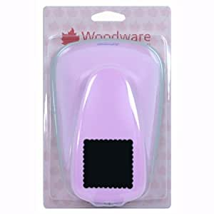 Woodware Craft Collection Super Duper Lever Punch - Scalloped Square by Woodware