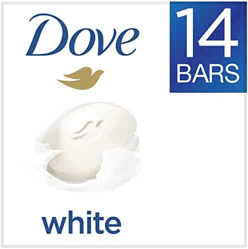 Dove Beauty Bar, White, 4 oz, 14 Bar