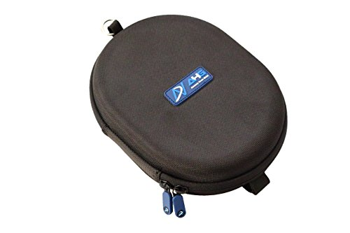 DNPRO-QC Upgrade Carrying Case for Bose QC25, QC35, QC35 II, Sony MDR-1000X MDR-1000XM2 MDR-1000XM3 Headphones (1680D Nylon, Black)