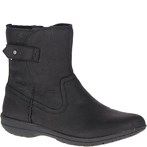re Kassie Mid Waterproof Fashion Boot, Black, 7 M US ()
