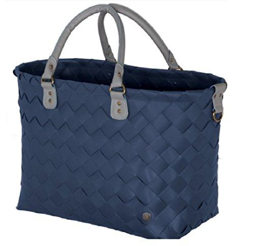 Handed By - Sac shopping pour femmes, Couleur: Bleu