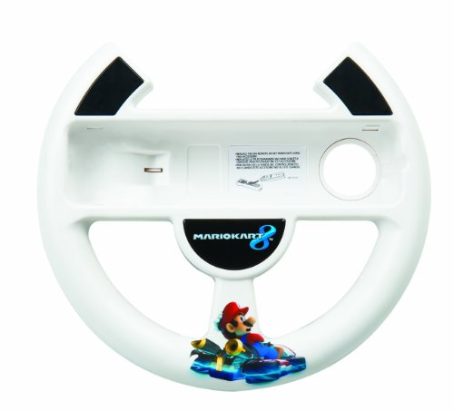 - PowerA Wii U Mario Kart 8 Racing Wheel - Nintendo Wii U
