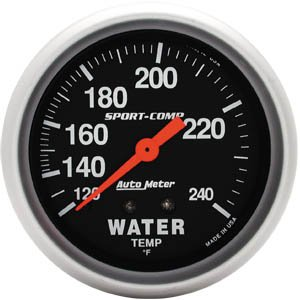 Autometer Water Temp - 6