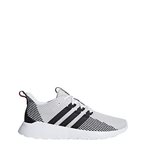adidas Men's Questar Flow, Black/raw White, 10 M US