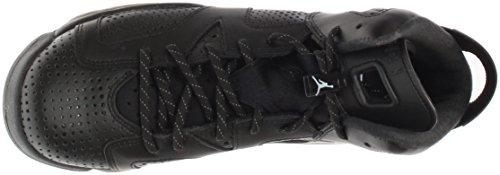 Homme Bg 020 Jordan Air Chaussures 384665 Noir Cuir Pour En Nike Retro 6 qT0xR
