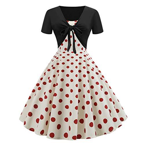 FAPIZI Women Summer Print Sunflower Cami Dress Bow Knot Bandage Top Plus Size Mini Dress Suits Swing T-Shirt Red