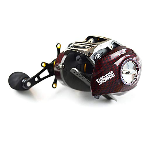 - Show time:fishing reel baitcast reels 6 3 1 18 Ball Bearings Right Handed Left Handed Bait Casting Lure Fishing bc150 shishamo:Right Handle