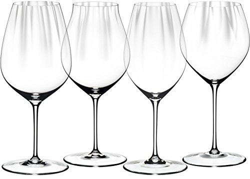 - Riedel 5884/47 Performance Wine Tasting Glass Set, Set of 4, Clear