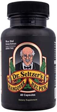 Dr. Seltzer's Hangover Helper Bottle - 10 Servings