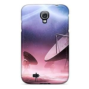 Cute Tpu DaMMeke Contact Case Cover For Galaxy S4