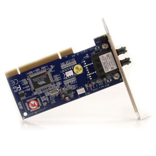 StarTech.com PCI100MMST 100Mbps PCI Multi Mode ST Fiber Ethernet NIC Network Adapter 2km by StarTech (Image #1)