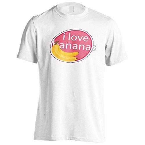Neue Liebe Bananen Leckere Neuheit Herren T-Shirt l358m
